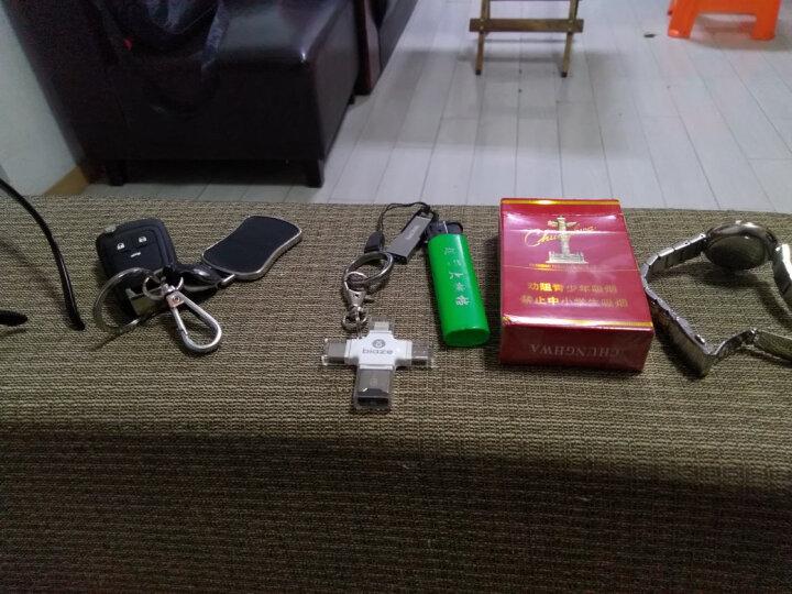 毕亚兹(BIAZE) 手机读卡器 四合一读卡器 手机U盘插TF卡OTG外接优盘Type-C手机电脑双用 适用苹果 安卓 A6-白 晒单图