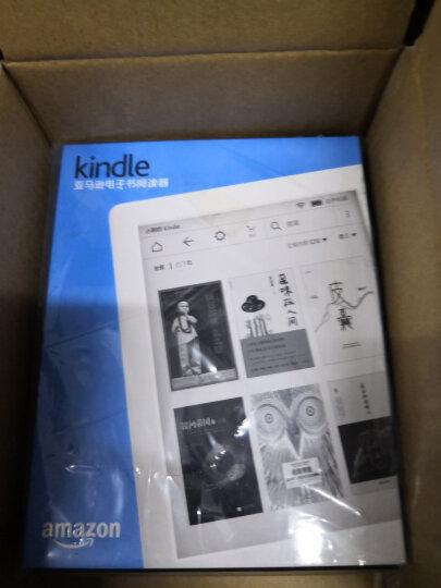 【套装】kindle 入门款6英寸电子墨水触控显示屏电子书阅读器 wifi 白色+柯帅蚕丝纹保护套优雅黑 晒单图