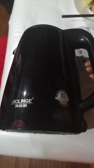 奥林格(AOLINGE)电热水壶保温烧水壶家用食品级不锈钢电水壶热水壶开水壶电热壶快壶煮煲烧水器 石墨黑(保温) 晒单图