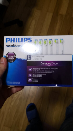 飞利浦(PHILIPS) 儿童电动牙刷头 迷你型2支装 HX6032/35 适配HX6312 HX6322(新包装HX6032/63随机发货) 晒单图
