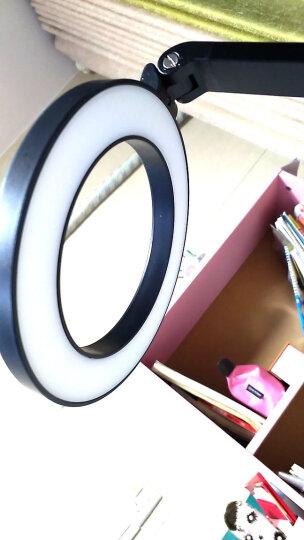 好视力 国家A级减蓝光 书桌儿童大学生学习宿舍卧室床头 快捷调光阅读护眼台灯TG2526-BK 晒单图