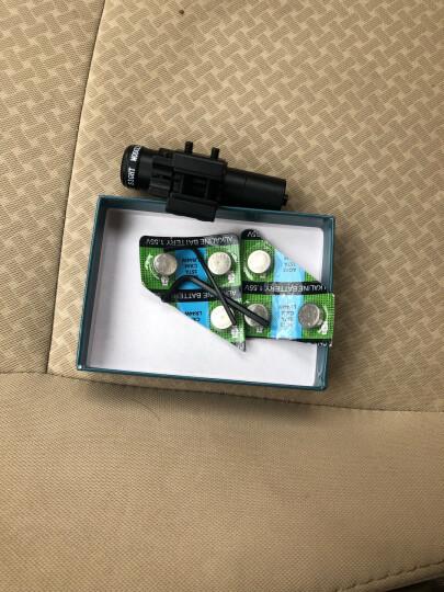 红绿色激光手电笔 红外线 瞄准器 瞄准镜卡扣8字夹轨道夹 鼠尾寻鸟镜 小号红瞄准器配纽扣电 211 11/20mm轨道版 晒单图