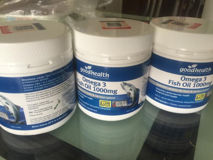 好健康(GOOD HEALTH) Omega3深海鱼油胶囊辅助降三高软化血管 150粒 晒单图