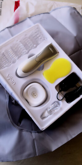 易简(yijan)婴儿童理发器 1小时快充 陶瓷刀头宝宝剃头器 电推剪发器电动推子防水 TS9600 晒单图