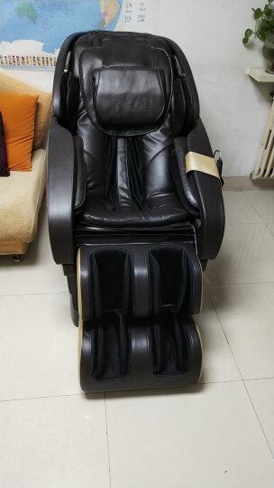 荣泰(ROTAI)按摩椅RT6600 真爱椅家用电动按摩沙发 太空豪华舱 咖啡色 晒单图
