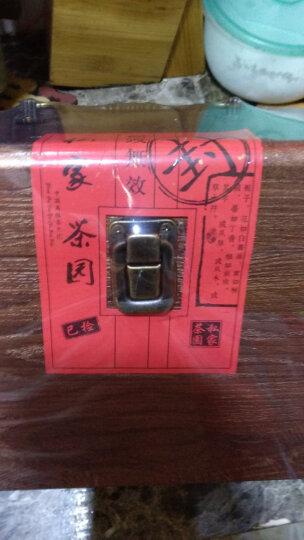 (大份量)六里轩雨前龙井绿茶实木500g茶叶 礼盒装龙井 晒单图