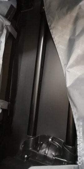 美旅拉杆箱  行李箱经典简约商务防泼水万向轮密码锁登机旅行箱 软箱20英寸大容量可扩展26B黑色 晒单图