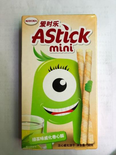 印尼进口 爱时乐(Astick)绿茶味威化卷心酥(注心威化饼干)50g 晒单图