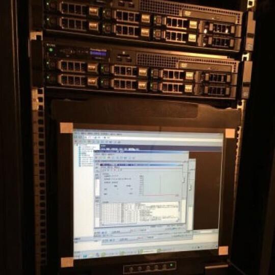 三拓 kvm切换器8口1口4口16口19英寸级联VGA切换器USB/PS2数字kvm切换器机架式 TL-8708 17英寸液晶8口 工程款 晒单图