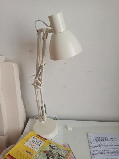 好视力 美式 led 台灯 学生学习工作护眼两用台灯床头灯TG837-S-WH 晒单图
