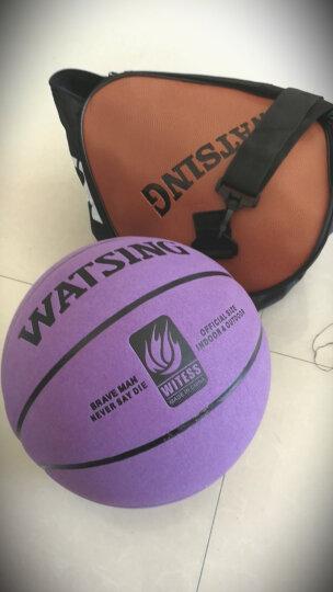 WITESS番毛软皮篮球加厚真皮手感 7号室内室外通用蓝球 晒单图