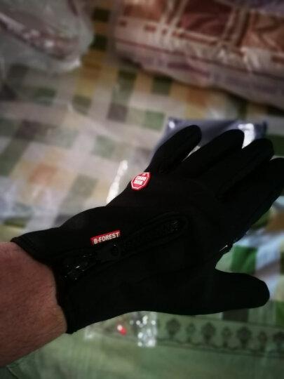 博沃尼克 手套冬季防寒触屏手套保暖手套 运动保暖防风防滑骑行手套全指手套登山保暖手套 XL 晒单图