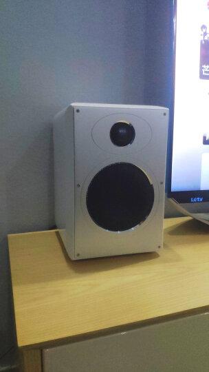惠威(HiVi)H5MKII 有源蓝牙音箱 网络数字输入高品质有源音箱 电视音箱 音响 白色 晒单图