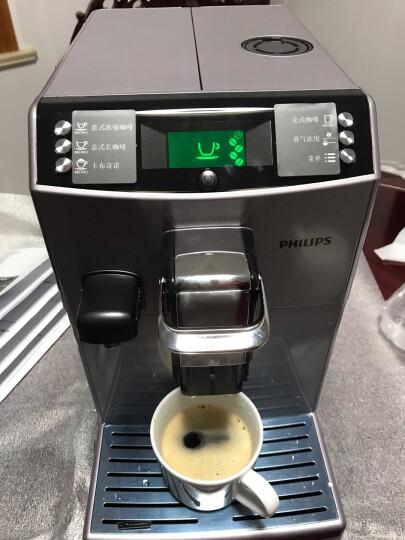 飞利浦(PHILIPS)咖啡机 家用全自动意式浓缩型带有集成式牛奶壶和奶泡器 HD8847/17 晒单图