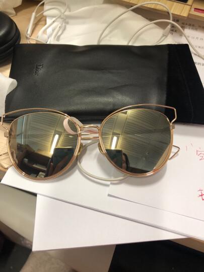 DIOR 迪奥 女款金色镜框绿色镜片眼镜太阳镜时尚镂空墨镜DiorSideral2 000UE 56mm 金色 晒单图
