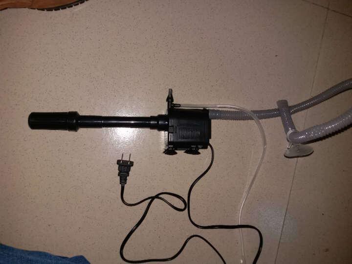 鱼缸潜水泵过滤器超静音 多功能三合一内置过滤泵潜水泵增氧气泵抽水泵 IPF-1990 10W 晒单图