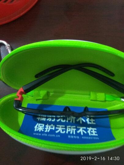 EFE儿童眼镜防蓝光辐射眼镜 手机电脑护目镜 预防近视眼镜适合3-8岁 C3-黑红色 晒单图