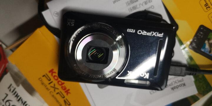 柯达(Kodak)FZ53 便携数码相机  黑色 (1615万像素 2.7英寸屏 5光学变焦 28mm广角 720P高清拍摄) 晒单图