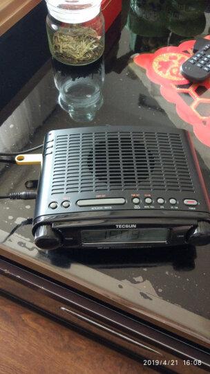 德生(TECSUN) R-303 交直流点 全波段收音机 电视伴音 老人半导体 黑色 晒单图