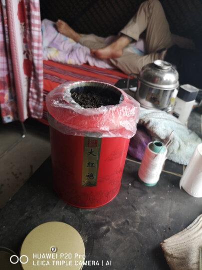 茶叶大红袍500g 武夷岩茶桶装礼盒装 浓香型乌龙茶新茶 溪帝 晒单图