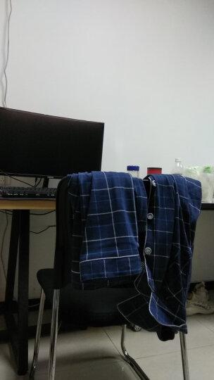 莉比诺睡衣男士春秋纯棉套装加大码薄款全棉冬季格子长袖睡衣家居服套装 男9013#长袖长裤 L码 晒单图