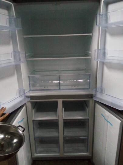 TCL 456升 十字对开多门电冰箱 冷藏自除霜 电脑控温 一体照明 魔幻空间 (流光金) BCD-456KZ50 晒单图