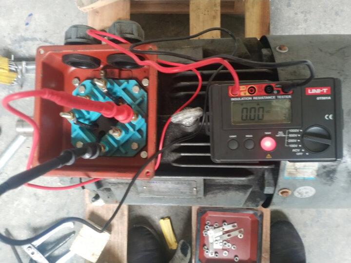 优利德 兆欧表 绝缘电阻测试仪数字绝缘电阻表摇表 UT501A (测试电压1000V) 晒单图