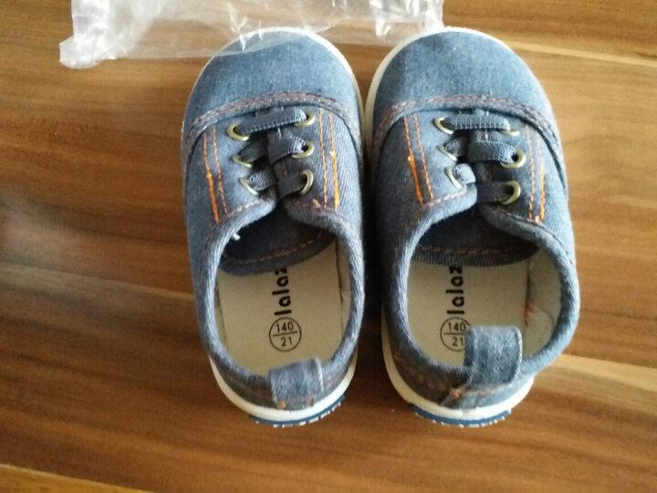 拉拉猪(lalazhu)春秋新款婴儿学步鞋女童鞋宝宝1-3岁2男童软底鞋子儿童防滑透气单鞋一 咖啡色(春秋款) 23码/内长15cm(适合脚长14cm) 晒单图