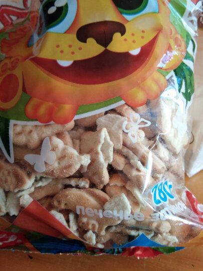 甜蜜农庄 俄罗斯原装进口零食 早餐饼干 休闲食品 6袋 牛奶燕麦饼干 355g/袋 晒单图
