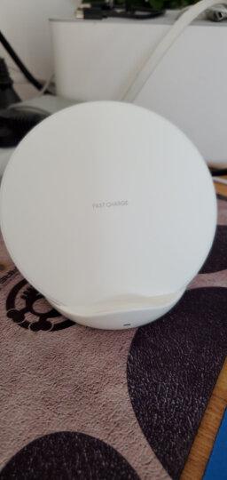 三星(SAMSUNG)无线充电器 原装快速无线充电器 S9/S8/Note8/苹果X/8无线充电器 黑色(需购Micro 2.0线) 晒单图