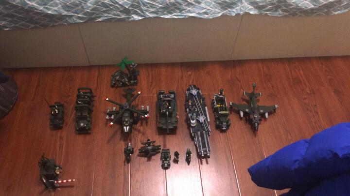 启蒙(ENLIGHTEN)拼装积木军事系列立体拼插玩具男孩礼物兼容乐高飞机坦克野战军团全套 晒单图
