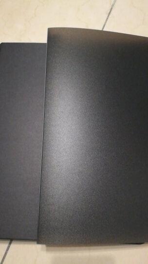 道林活页夹PP板金属夹外壳不含内页芯通用学生办公用品 笔记活页纸内页芯收纳 黑色 A4-30孔 晒单图