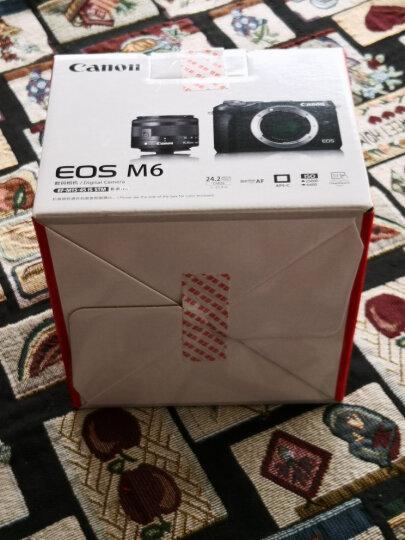 佳能(Canon)EOS M6(15-45镜头)黑色微单套机(2420万像素 触控翻转LCD 全像素双核对焦)Vlog视频拍摄 晒单图