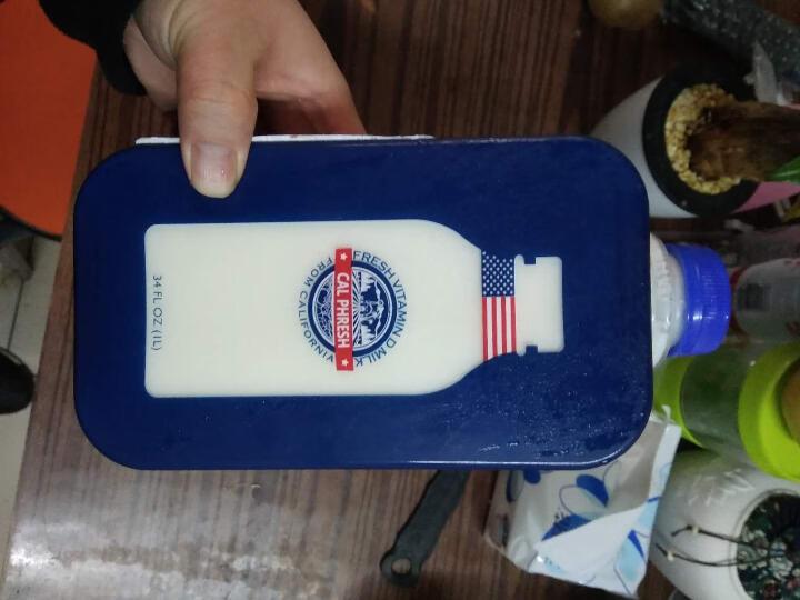 美国进口牛奶 卡富芮氏 巴氏杀菌低温奶全脂鲜牛奶 适用成人儿童孕妇 富含维生素D营养纯牛奶 1L*1瓶 晒单图