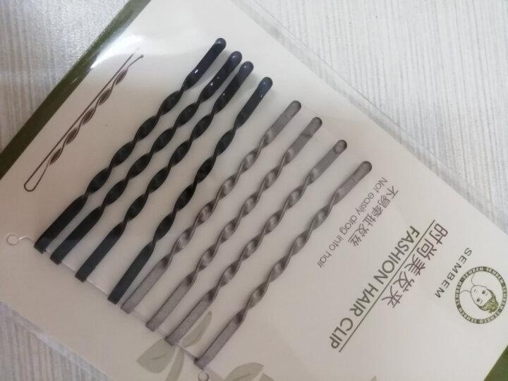 三本(SEMBEM)螺纹定型美发夹 (8枚)不易压塌发型 弹性好 晒单图