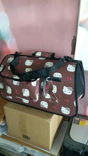 爱咪购 宠物便携旅行包 可折叠 WK10058 L号 粉色 hello kitty宠物箱包 晒单图