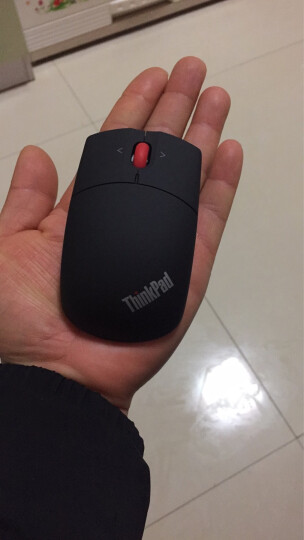 联想(Lenovo)Thinkpad有线/无线/蓝牙鼠标可选台机笔记本电脑商务家用原装鼠标 【无线】蓝光鼠标 陨石银0B47164 晒单图