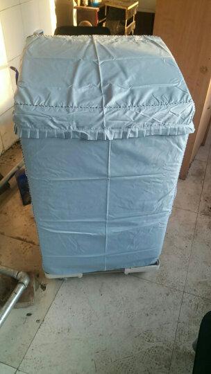 安美饰 全自动波轮洗衣机罩套 XB551XXL 波轮洗衣机防水防晒防尘罩 做工精致细密/面料/拉链升级 XXL号 蓝色 晒单图