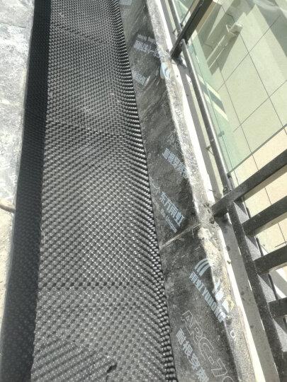 千特 屋顶花园种菜楼顶绿化蓄排水板隔水板双面防阻根排水板土工布 土工布 晒单图