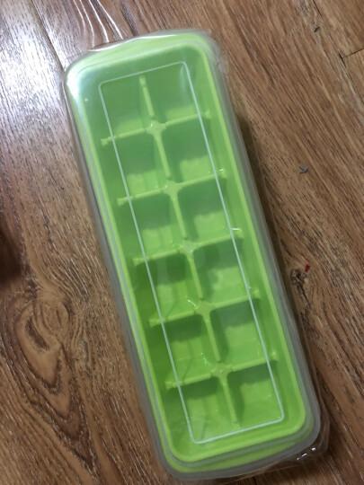 尚烤佳 冰格 冰盒 制冰器 冰块盒 冰箱制冰盒 含冰铲储冰盒12格 晒单图