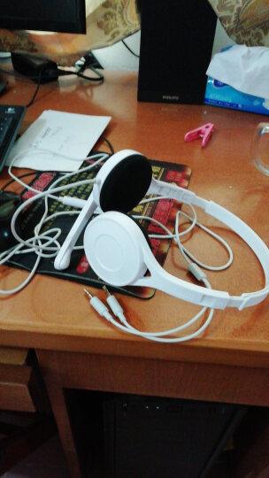 漫步者(EDIFIER) K550 头戴式耳机耳麦 游戏耳机 电脑耳机  办公教育 学习培训 时尚白色 晒单图