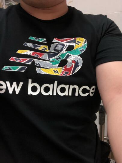 New Balance NB 2019夏季新款男子运动休闲短袖T恤 AMT81543PGM L 晒单图