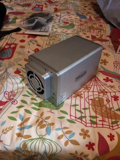 铁威马(TerraMaster)D2-310 双盘RAID磁盘 阵列盒 阵列柜 Type-c硬盘盒(非NAS网络存储云存储) 晒单图