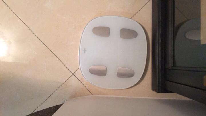 乐心(lifesense) 智能体脂秤 电子秤 体重秤 人体秤 微信互联 蓝牙APP控制 白色 晒单图