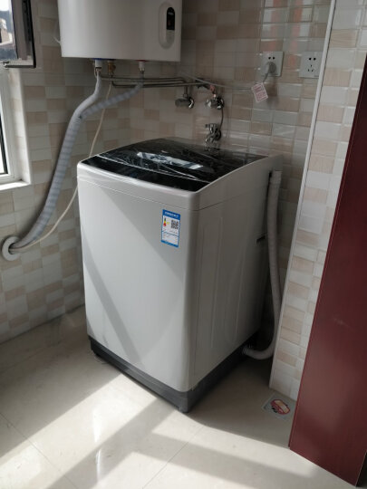 TCL 8公斤 全自动波轮洗衣机 金属机身 一键脱水 智能模糊控制 一体盖板(亮灰色)XQB80-1578NS 晒单图