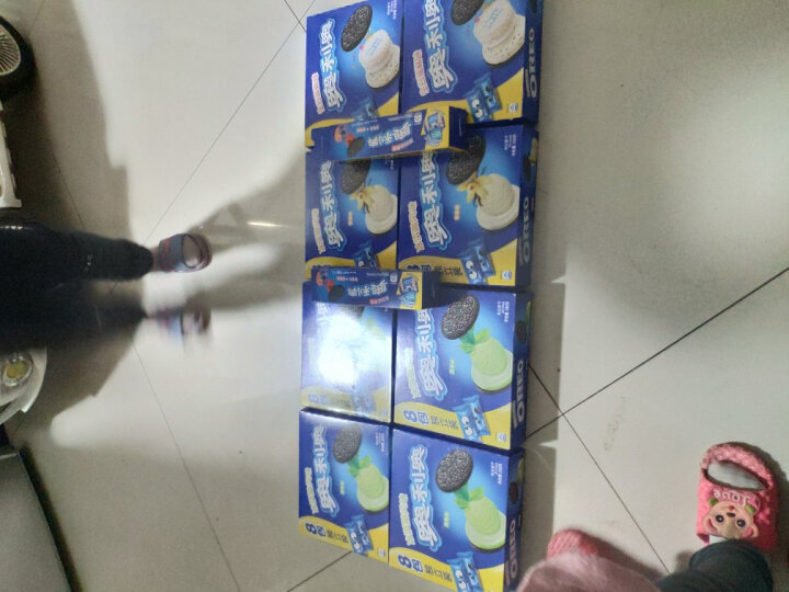 奥利奥(Oreo)夹心饼干冰淇淋抹茶味 早餐休闲零食办公室下午茶家庭装囤货必备388g(新老包装随机发货) 晒单图