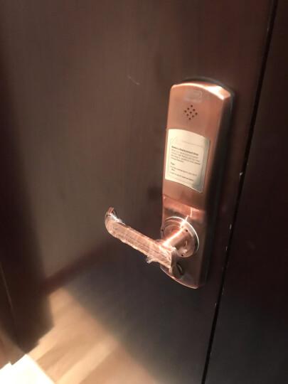 第吉尔(KEYLOCK)【免费上门安装】指纹锁家用防盗门锁密码电子智能锁92A 假锁 晒单图