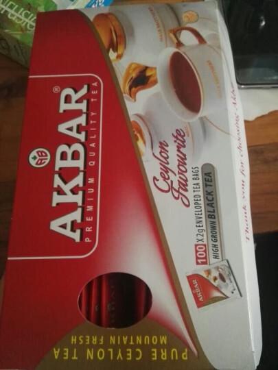 斯里兰卡进口 阿客巴(AKBAR)高山锡兰红茶 200g 斯里兰卡进口 晒单图
