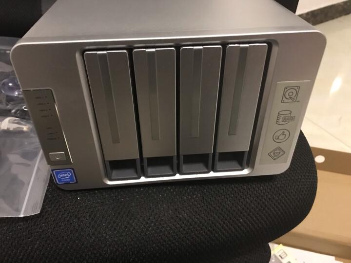 铁威马 TERRA MASTER F4-420 intel四核2.0GHz,4G内存 四盘NAS千兆网络存储 私有云存储服务器 晒单图