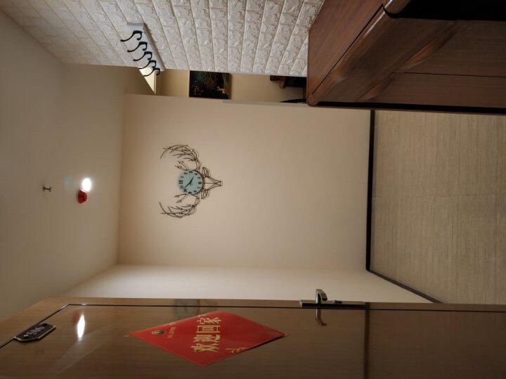 梦雅莉(mengyali)3d立体墙贴创意电视背景墙客厅墙纸自粘贴画卧室装饰防水 珍珠白斜砖纹【清仓】 大号(70*77cm) 晒单图